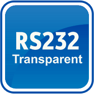 Transparent mode (RS232)